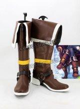 カードファイト!! ヴァンガードG 夜霧の吸血姫ナイトローゼ風 コスプレ靴 ブーツ