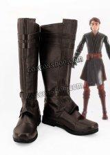 スター・ウォーズ Star Wars アナキン・スカイウォーカー風 Anakin Skywalker 02 コスプレ靴 ブーツ