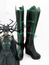 マイティ・ソー バトルロイヤル Thor: Ragnarok ヘラ風 03 コスプレ靴 ブーツ