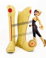 ビッグ・ヒーロー6 Big Hero 6 ベイマックス ゴー・ゴー風 コスプレ靴 ブーツ