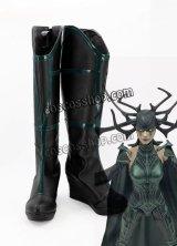 マイティ・ソー バトルロイヤル Thor: Ragnarok ヘラ風 02 コスプレ靴 ブーツ