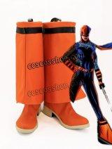 Teen Titans Go ティーン・タイタンズ Go! Rose Wilson ローズ・ウィルソン風 Ravager コスプレ靴 ブーツ