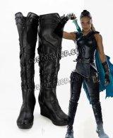 マイティ・ソー バトルロイヤル Thor: Ragnarok Valkyrie ヴァルキリー風 コスプレ靴 ブーツ