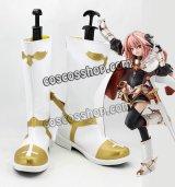 Fate/Grand Order フェイト・グランドオーダー ライダー アストルフォ風 コスプレ靴 ブーツ