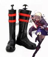 Fate/Grand Order フェイト・グランドオーダー バーサーカー 謎のヒロインX風 コスプレ靴 ブーツ