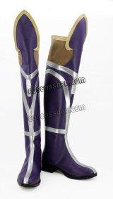League of Legends リーグ・オブ・レジェンズ Fiora フィオラ風 天翔の剣フィオラ コスプレ靴 ブーツ