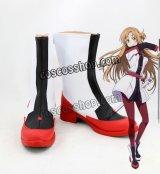 ソードアート・オンライン 劇場版 アスナ風 Asuna コスプレ靴 ブーツ