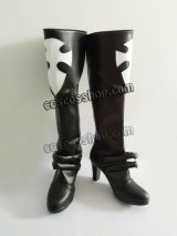 D.Gray-man リナリー リー風 コスプレ靴 ブーツ
