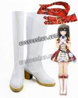 アイドルマスター シンデレラガールズ スターライトステージ デレステ 1周年記念 渋谷凛風 コスプレ靴 ブーツ