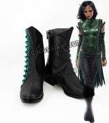 ガーディアンズ・オブ・ギャラクシー:リミックス マンティス風 コスプレ靴 ブーツ