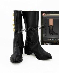 画像1: ファイナルファンタジーXIV FF14 コスプレ靴 ブーツ