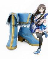 BanG Dream! バンドリ! Poppin'Party 花園たえ風 ポッピンパーティー コスプレ靴 ブーツ