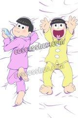 おそ松さん 松野トド松&松野十四松風 ●等身大 抱き枕カバー