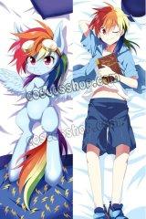 My Little Pony: Friendship Is Magic Rainbow Dash風 ●等身大 抱き枕カバー
