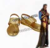 マイティ・ソー バトルロイヤル Thor: Ragnarok グランドマスター風 En Dwi Gast コスプレ靴 ブーツ