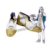 夢王国と眠れる100人の王子様 ギルバート風 コスプレ靴 ブーツ