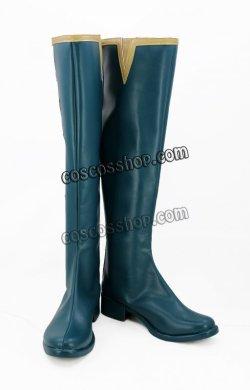 画像2: アイドルマスター シンデレラガールズ Tulip 塩見周子風 しおみしゅうこ コスプレ靴 ブーツ