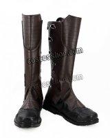 ガーディアンズ・オブ・ギャラクシー:リミックス ピーター・クイル スター・ロード風 02 コスプレ靴 ブーツ