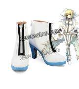 Fate/Grand Order フェイト・グランドオーダー FGO ネロ・クラウディウス風 束縛の花嫁衣装 コスプレ靴 ブーツ