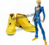 ジョジョの奇妙な冒険 黄金の風 ジョルノ・ジョバァーナ風 03 コスプレ靴 ブーツ