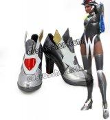 オーバーウォッチ Overwatch シンメトラ風 コスプレ靴 ブーツ