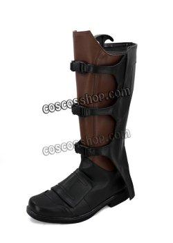 画像4: ガーディアンズ・オブ・ギャラクシー Guardians of the Galaxy ピーター・クイル スター・ロード風 03 コスプレ靴 ブーツ