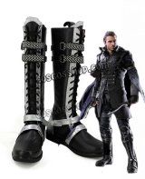 Kingsglaive: Final Fantasy XV キングスグレイブ ファイナルファンタジーXV ニックス・ウリック風 コスプレ靴 ブーツ