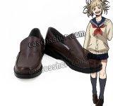 僕のヒーローアカデミア トガヒミコ 渡我被身子風 コスプレ靴 ブーツ