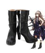 少女前線 Girls Frontline UMP45風 ドレス コスプレ靴 ブーツ