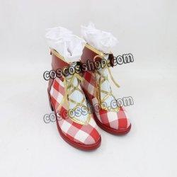 画像2: LoveLiveラブライブ! 田海未風 コスプレ靴 ブーツ