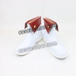 画像1: デッドマン・ワンダーランド 咲神卜卜風 ソンサク コスプレ靴 ブーツ