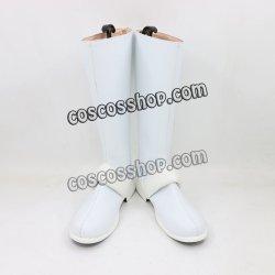 画像1: この素晴らしい世界に祝福を! ダクネス風 コスプレ靴 ブーツ
