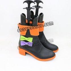 画像3: VOCALOID ハロウィン風 コスプレ靴 ブーツ