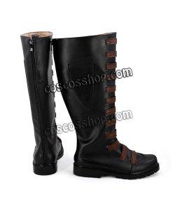 画像2: デッドプール Deadpool Domino 風 02 コスプレ靴 ブーツ