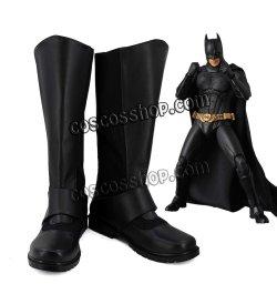 画像1: The Batman バットマン バットマン風 02 コスプレ靴 ブーツ