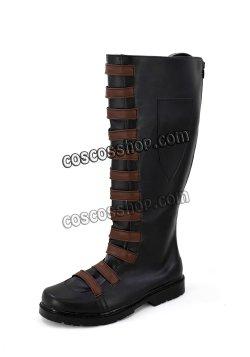 画像3: デッドプール Deadpool Domino 風 02 コスプレ靴 ブーツ