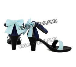 画像2: VOCALOID ボーカロイド ボカロ GUMI風 気まぐれメルシィ ダンス 巫女 風 コスプレ靴 ブーツ
