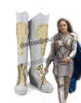 マイティ・ソー バトルロイヤル Thor: Ragnarok Valkyrie ヴァルキリー風 02 コスプレ靴 ブーツ