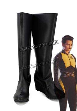 画像1: デッドプール Deadpool風 コスプレ靴 ブーツ
