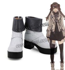 画像1: ファイナルファンタジーXIV FF14風 コスプレ靴 ブーツ