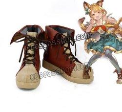 画像1: グランブルーファンタジー GRANBLUE FANTASY ケルベロス風 コスプレ靴 ブーツ