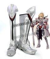 Fate/Grand Order フェイト・グランドオーダー モードレッド風 02 コスプレ靴 ブーツ