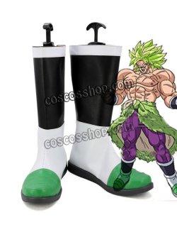 画像1: ドラゴンボール 超 ブロリー風 コスプレ靴 ブーツ