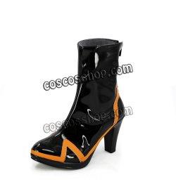 画像4: 新世紀エヴァンゲリオン 綾波レイ風 04 コスプレ靴 ブーツ