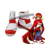 カードキャプターさくら 木之本桜風 21 コスプレ靴 ブーツ