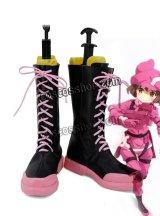 ソードアート・オンライン 小比類巻香蓮風 コスプレ靴 ブーツ