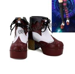 画像1: マクロスΔ レイナ·フラウラー風 コスプレ靴 ブーツ