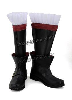 画像2: ファイナルファンタジーXIV FF14 黒魔道士風 BLACK MAGE 03 コスプレ靴 ブーツ