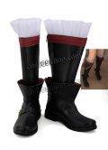 ファイナルファンタジーXIV FF14 黒魔道士風 BLACK MAGE 03 コスプレ靴 ブーツ