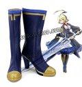 BLAZBLUE ブレイブルー ェス風 コスプレ靴 ブーツ